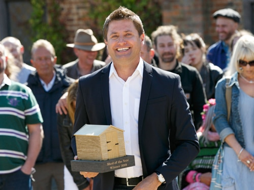 George Clarke in Amazing Spaces Shed of the Year