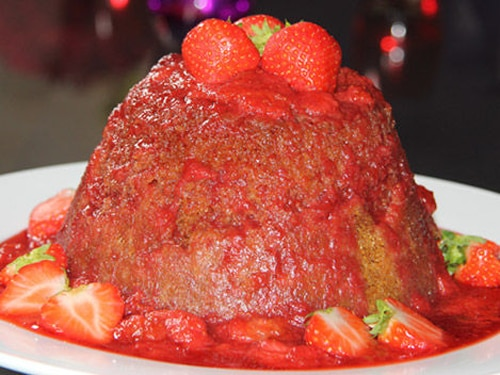 Jam Sponge Pudding Recipe
