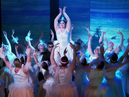 big ballet performance