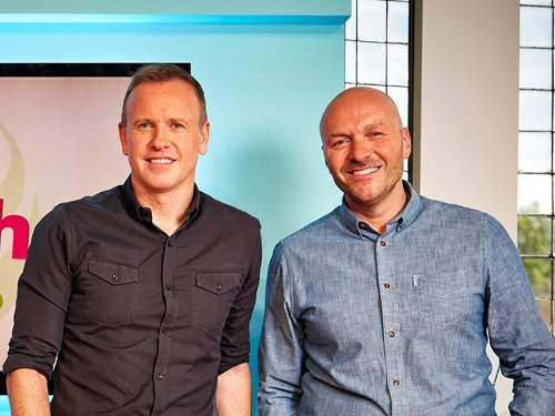 Tim and Simon in Daily Brunch with Ocado