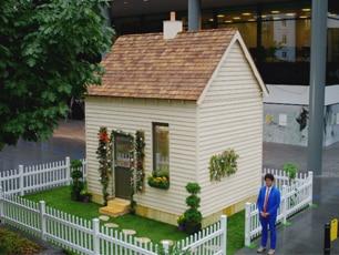 Gadget Man Cube House