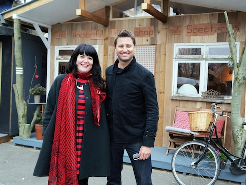 Opticians Hut on George Clarke's Amazing Spaces Channel 4