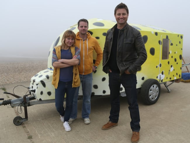 George Clarke\'s Amazing Spaces - Articles - Teardrop Boxfish - All 4