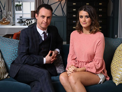 #HollyoaksConsent – Greg & Sophie Discuss Ellie's Storyline