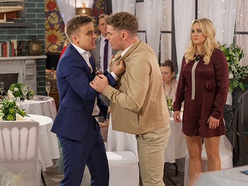 Duncan James & Parry Glasspool Give us the #WeddingKnight Goss