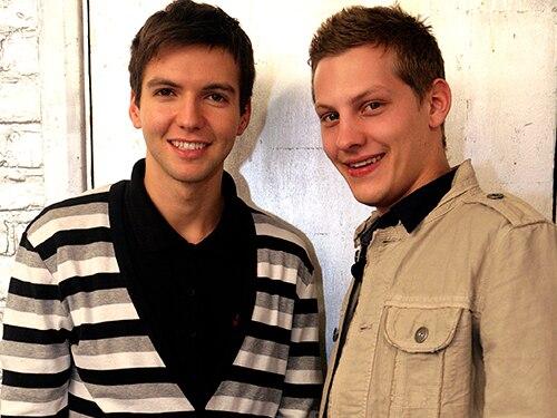Craig and John Paul