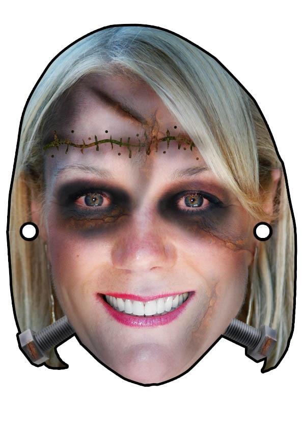 Frankie-stein Halloween Mask