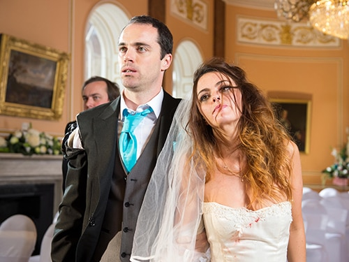 Dr Browning and Mercedes McQueen