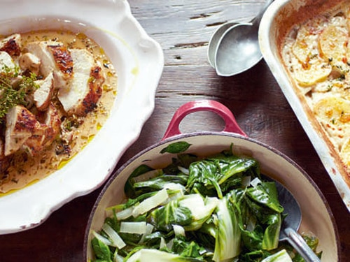 Mustard Chicken and Black Forest Affogato Meal Recipe