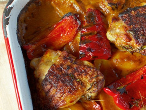 Piri Piri Chicken with Quick Portuguese Tarts Meal Recipe