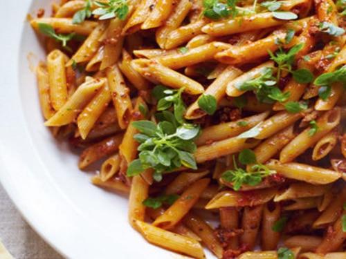 Jools' Pasta with Frangipane Tart Meal Recipe
