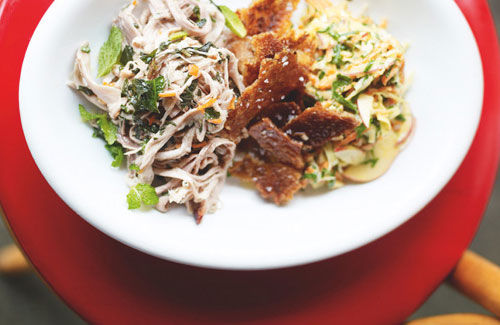 Southern-Style Pork and Slaw Recipe
