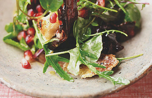 Candied Bacon Green Salad Recipe