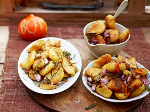 Jamie's Best Ever Christmas - Articles - Perfect Roast Potatoes ...