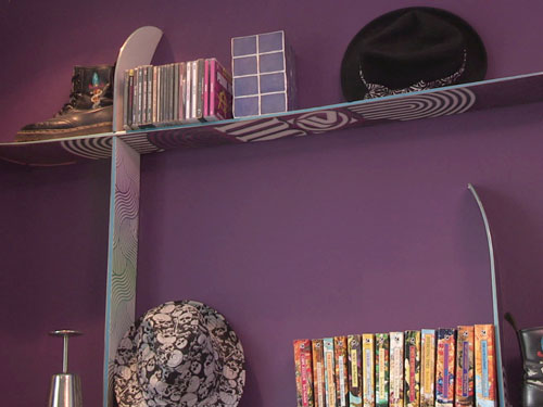 Snowboard Shelf