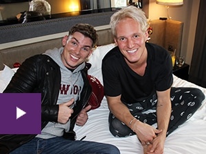 Jamie and Kieron Richardson