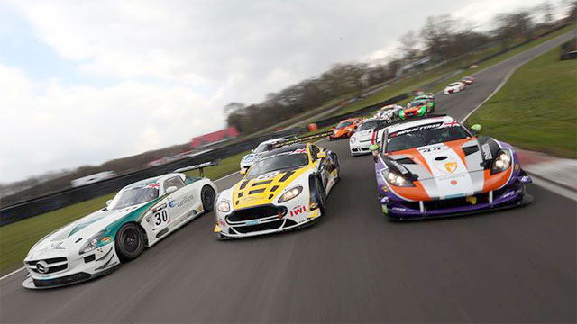 British GT  - The supercar motor racing series