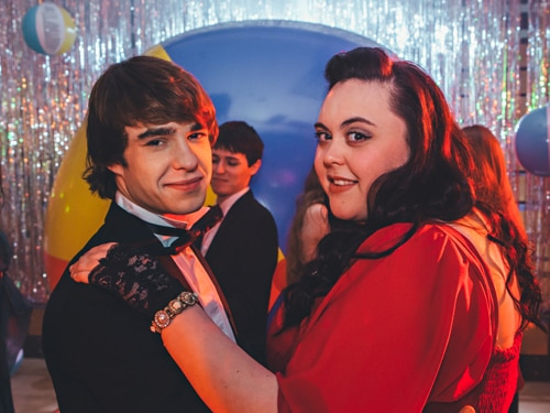 Rae and Finn in My Mad Fat Diary