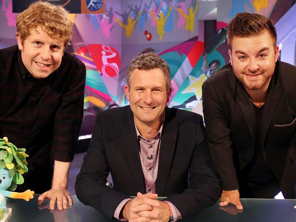 Josh, Adam and Alex on The Last Leg