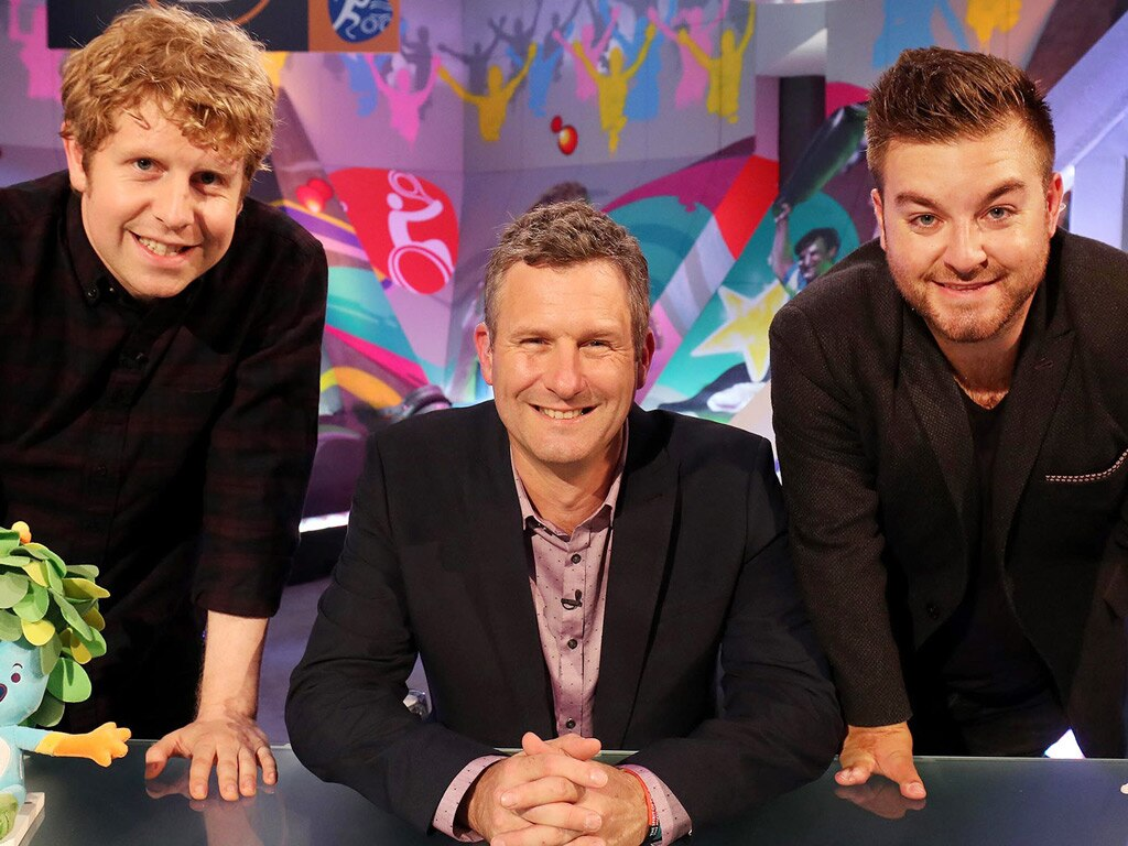 Josh, Adam and Alex on The Last Leg