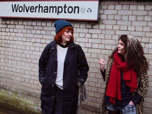 Caitlin and Caroline Moran in Wolverhampton