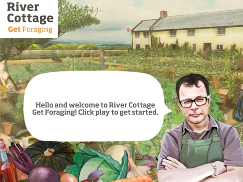 River Cottage Get Foraging Game
