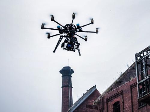 Drones in Forbidden Zones