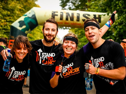 SU2C Partners with the Bear Grylls Survival Race