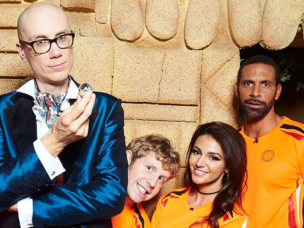 Stephen Merchant, Josh Widdecombe, Michelle Keegan and Rio Ferdinand