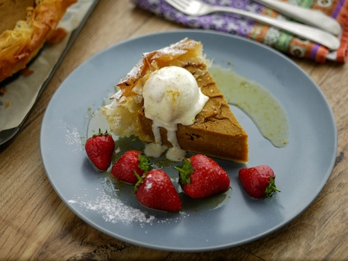 Vegan Pumpkin and Coconut Pie Recipe