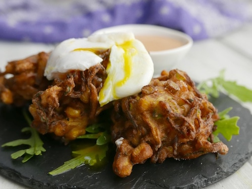Courgette and Sweetcorn Fritters Recipe