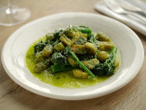 Easy Gnocchi with Pesto Recipe