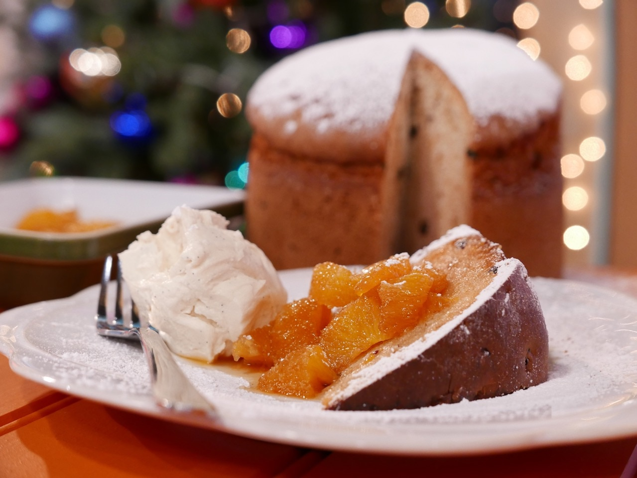 Theo Randall's Panettone with Caramelised Oranges