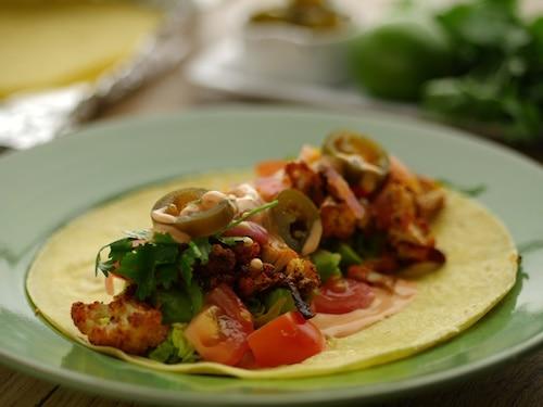 Vegan Cauliflower Tacos Recipe