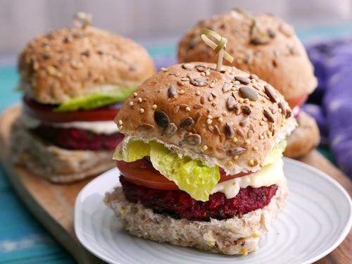 Sunday Brunch - Articles - Ultimate Veggie Burger Recipe - All 4