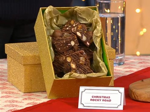 Mince Pie Rocky Road