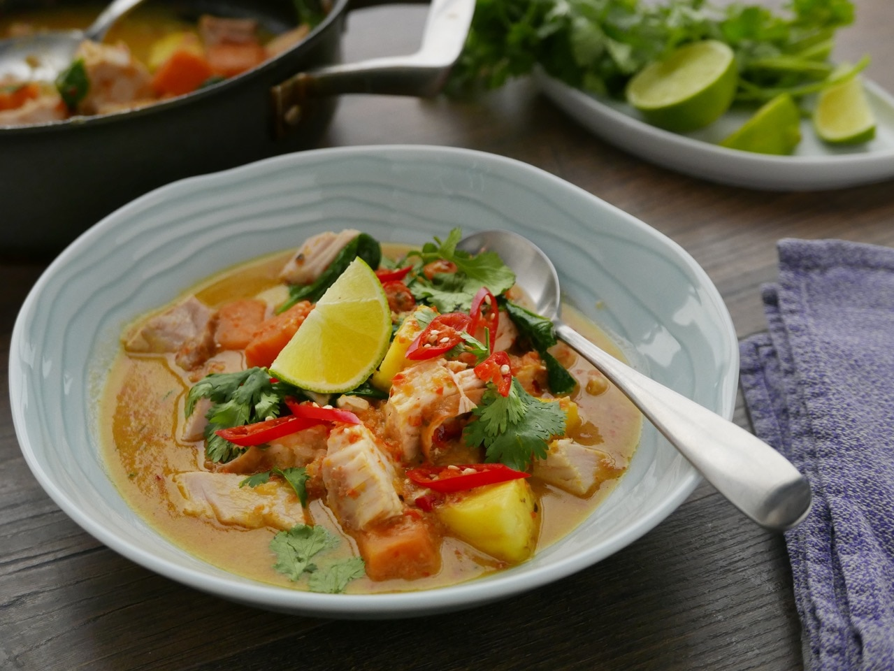 sunday brunch articles red thai turkey curry all 4