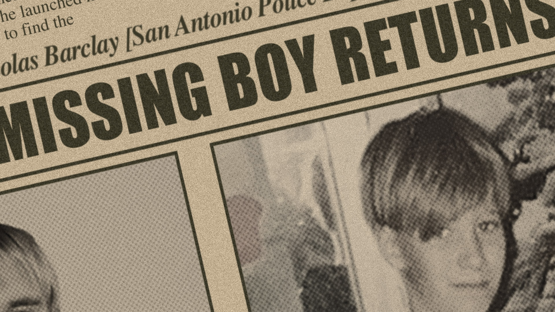 Missing boy returns