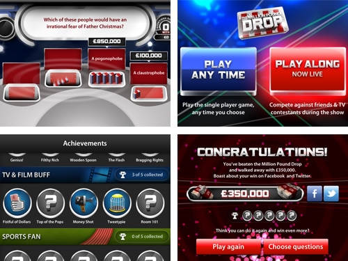 The Million Pound Drop Mobile Game
