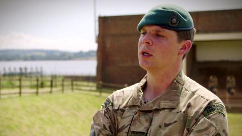 Platoon Weapons Instructor - Sgt Matt Howells