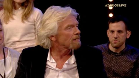 Drugs Live Sir Richard Branson