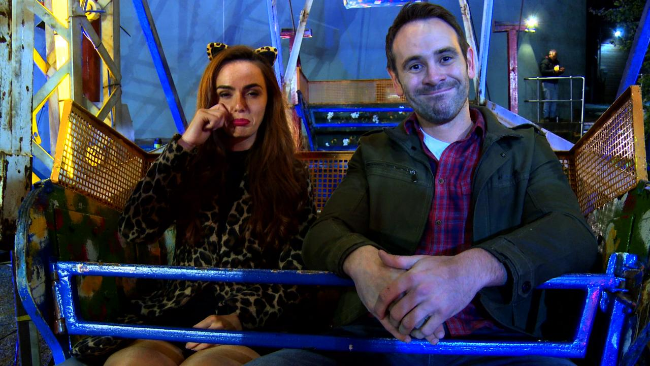 #HollyoaksNoExit: Backstage at the Stunt