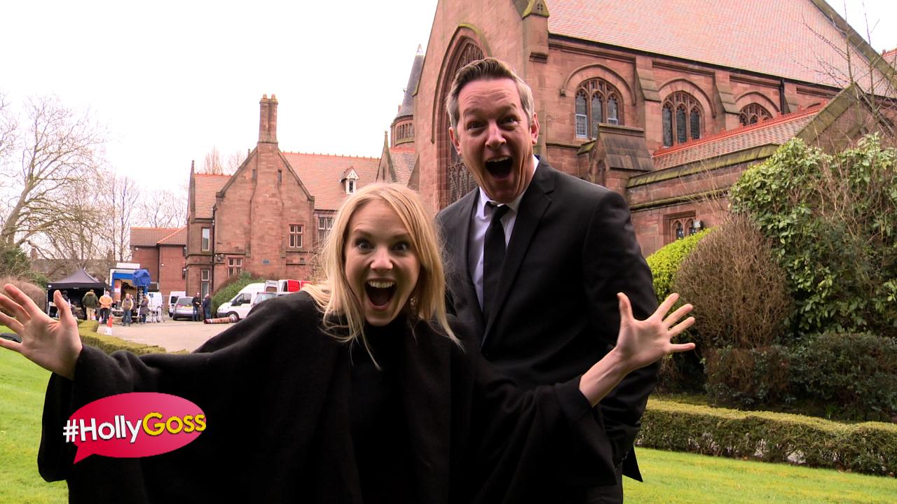#HollyGoss - TWO Exciting Returns at Amy's Funeral!