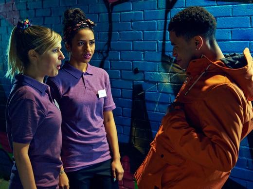Jay, Jodie and Davina