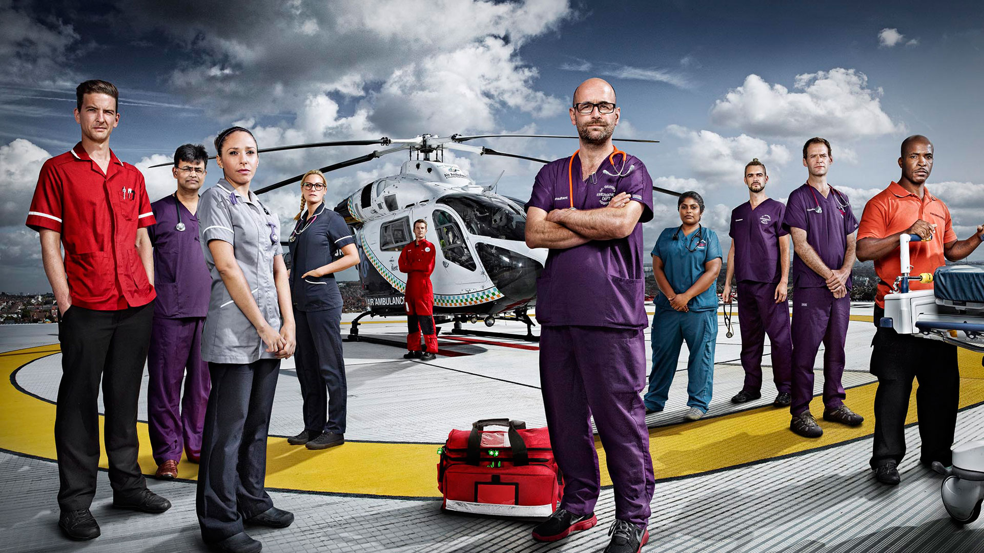 24 Hours in A&E for Stand Up To Cancer