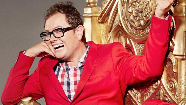 Alan Carr's chat show, packed with celebrity guests, topical showbiz news and highlights from the world of telly and the web