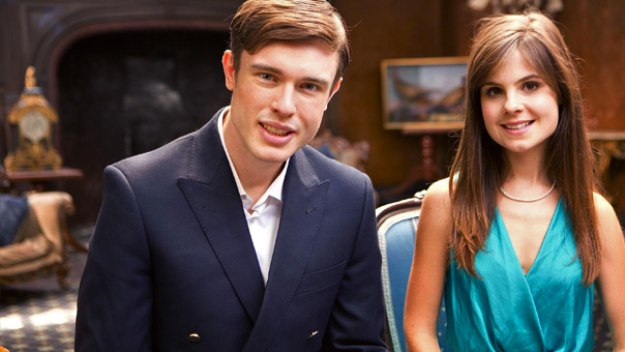 Faux-reality comedy following two young British aristocrats as they venture outside the palace and across the pond on their first trip to the USA