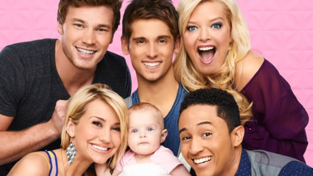 Baby Daddy: Danny, Ben, Bonnie, Tucker, Emma and Riley