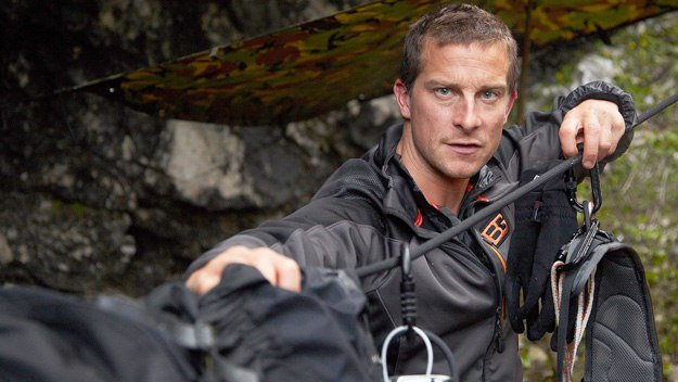 Bear Grylls takes Ben Stiller, Stephen Fry, Jonathan Ross and Miranda Hart on exhilarating adventures well outside their comfort zones