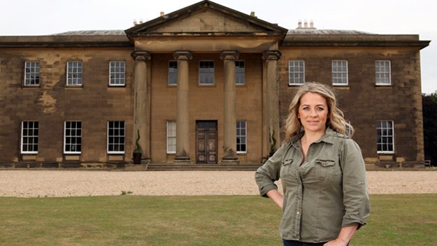 Sarah Beeny attempts to save a near-derelict listed Georgian stately home and open it up as a luxury events venue